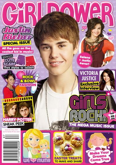 Джастин Бибер на обложках журналов