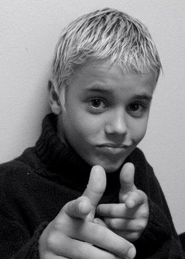 Джастин Бибер в детстве